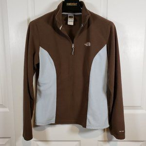 The North Face TKA 100 1/4 Zip Fleece Pullover LG